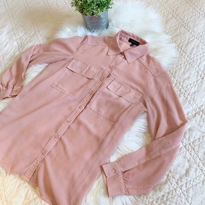 Spense Pink Blouse | Size Small